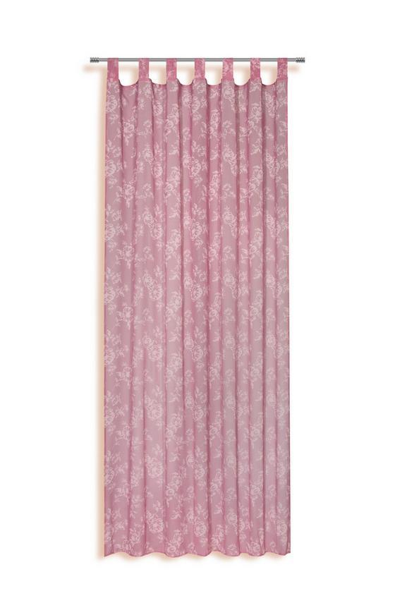 Kombivorhang Lexia - Dunkelgrau/Hellgrau, KONVENTIONELL, Textil (140/255cm) - Ombra