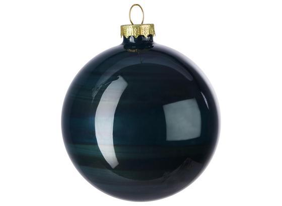 Guľa Na Vianočný Stromček Lena - tmavozelená, sklo (8cm) - Mömax modern living