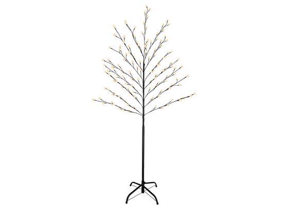 LED-Außenleuchte Virdis I - Schwarz/Weiß, Basics, Kunststoff/Metall (80/160cm)