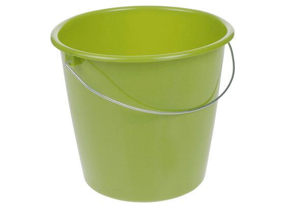 Eimer Fjonna 10 L - Grün, Kunststoff (28,5/26cm)