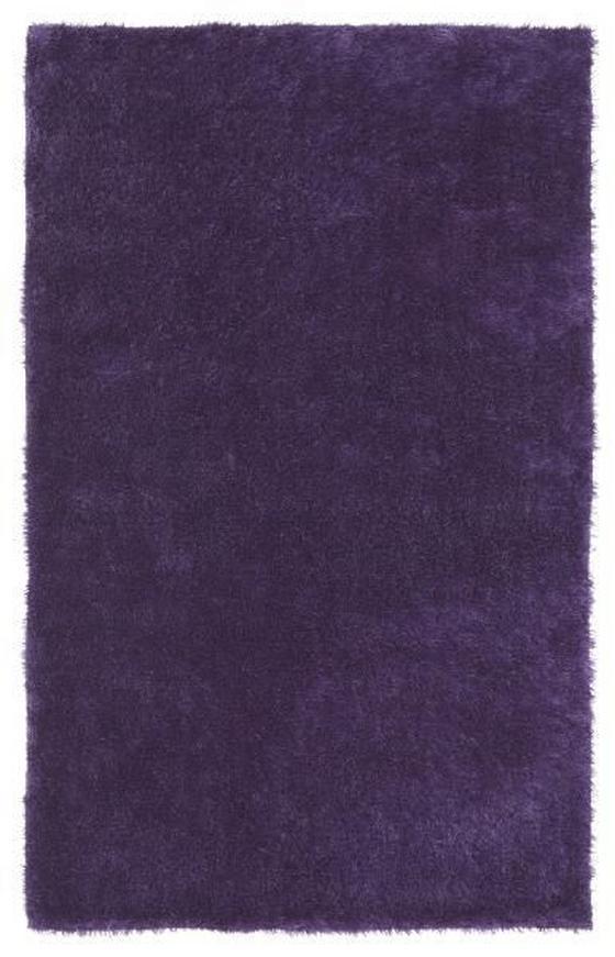 Hochflorteppich Amy 120x170 cm - Lila, KONVENTIONELL, Textil (120/170cm) - Luca Bessoni