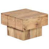 Beistelltisch Sira L: ca. 44 cm - Akaziefarben, Design, Holz (44/44/30cm) - Carryhome