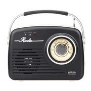 Radio Mono 1965 Schwarz - Schwarz, Basics, Kunststoff (21/19,5/6,5cm)