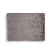 Hochflorteppich Glossy - Silberfarben, Basics, Textil (80/150cm) - Luca Bessoni