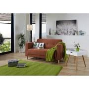 Zweisitzer-Sofa Geneve - Dunkelbraun/Naturfarben, MODERN, Textil (148/81/75cm)