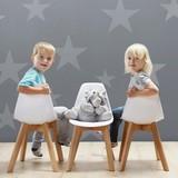 Detská Stolička Tibby - biela, Moderný, umelá hmota/drevo (30/56,5/32,5cm) - MODERN LIVING