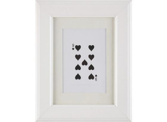 Rám Na Obrazy Provence - bílá, Romantický / Rustikální, dřevo/sklo (13/18/2cm) - Mömax modern living