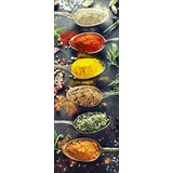 Keilrahmenbild A Spicy One - Multicolor, MODERN, Holzwerkstoff (30/80cm)