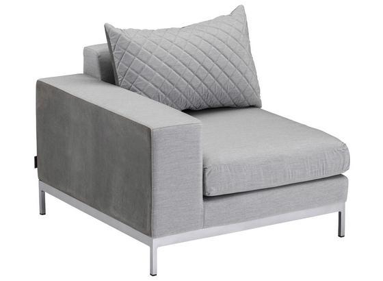 Sedacia Súprava Hallstatt - čierna/sivá, Moderný, umelá hmota/kov - Modern Living