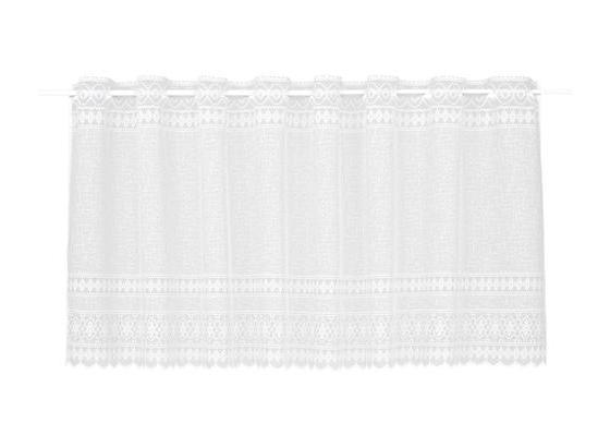 Krátka Záclona Theresa - biela, textil (145/50cm) - Mömax modern living