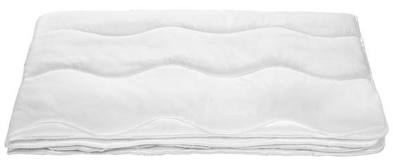 Steppdecke Linda - Weiß, KONVENTIONELL, Textil (140/200cm) - Primatex