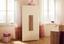 Drehtürenschrank Toronto 90,7cm Eiche Dekor - Eichefarben/Weiß, LIFESTYLE, Holzwerkstoff (90,7/185/58,2cm)