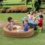 Kinder-gartenset Np Summertime Play Center - Blau/Beige, MODERN, Kunststoff (145/169/178cm)