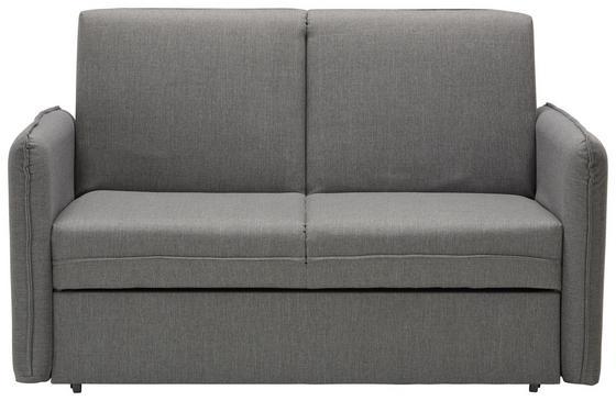 Pohovka S Rozkladom Piano - sivá, Moderný, textil (156 94 99cm)