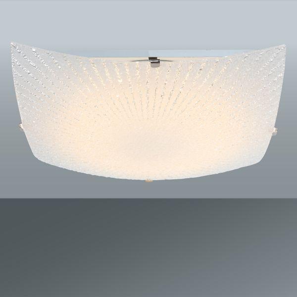 Svítidlo Stropní Margret - Konvenční, kov/sklo (30/30/8cm) - MÖMAX modern living