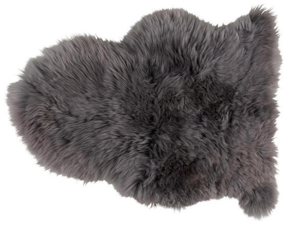 Kůže Ovčí Lea - světle šedá, textil (60/45cm) - Mömax modern living