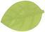 Prostírání Leaf - šedá/bílá, jiné přírodní materiály (33/50cm)