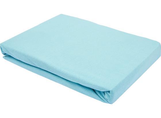Prostěradlo Napínací Basic - mátově zelená, textil (150/200cm) - Mömax modern living