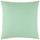 Dekoračný Vankúš Zippmex -based- -top- - mätovozelená, textil (50/50cm) - Based