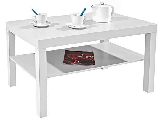 Konferenční Stolek Light - bílá, Moderní, kompozitní dřevo (90/45/55cm)