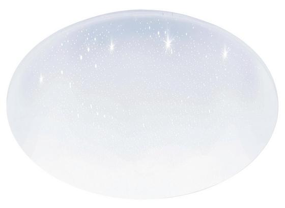 LED-Deckenleuchte Pogliola-S D: 50 cm Weiß - Weiß, Basics, Kunststoff/Metall (50/8cm)