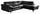 Wohnlandschaft in L-Form Driver 266x214 cm - Chromfarben/Schwarz, MODERN, Textil (266/214cm)
