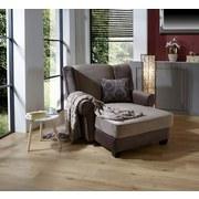 Sessel Living - Hellbraun/Dunkelbraun, ROMANTIK / LANDHAUS, Holz/Textil (120/98/138cm)