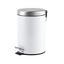 Nášlapný Koš Pushy-top- - šedá/bílá, Konvenční, kov/umělá hmota (16,8/25,6cm) - Mömax modern living