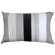 Dekoračný Vankúš Björn - čierna/sivá, Štýlový, textil (40/60cm) - Mömax modern living