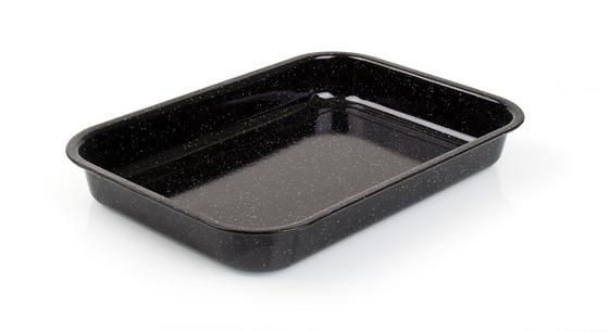 Pekáč Smaltovaný - Konvenční, kov (42/29,5/5,5cm)