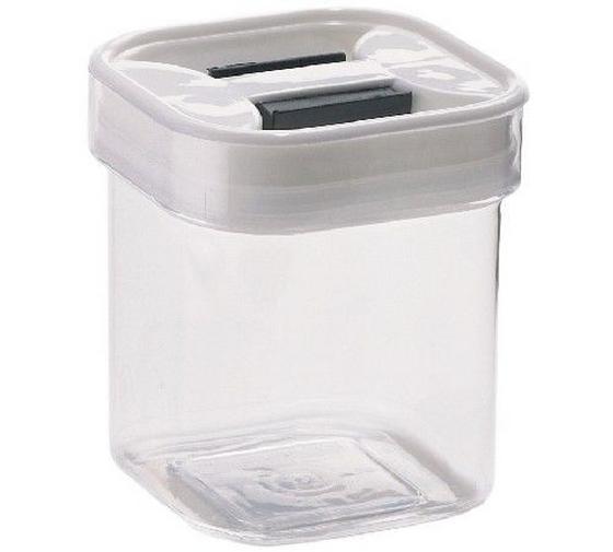 Tárolódoboz Szögletes - tiszta/fehér, konvencionális, műanyag (10.0/11.5/10.0cm)