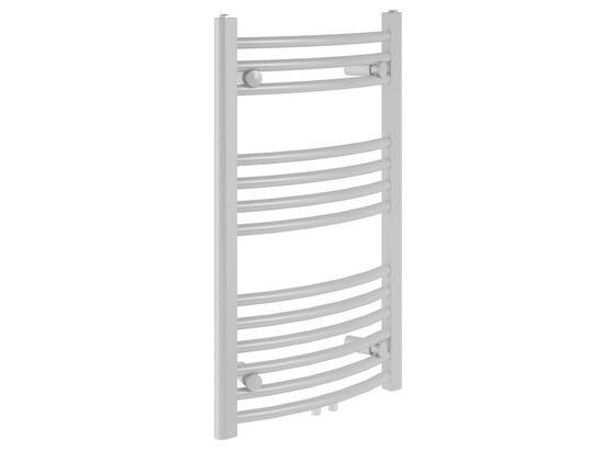 Badheizkörper Bari Gebogen,600x803mm - Weiß, Metall (60/80,3/12cm)
