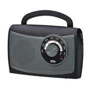 Radio M 285 Tr, 243003 - Schwarz/Grau, Basics, Kunststoff (20/13/8cm)