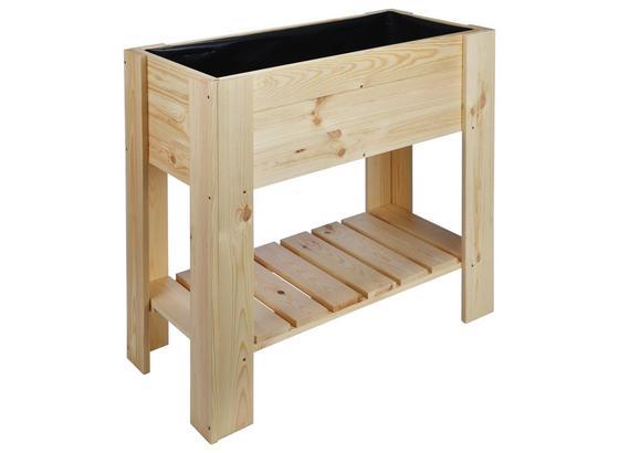 Hochbeet Aus Fsc Holz - Naturfarben, MODERN, Holz (86,8/40/80cm)