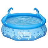 Kinderschwimmbecken Oktopool - Blau, MODERN, Kunststoff (274/76cm) - Bestway