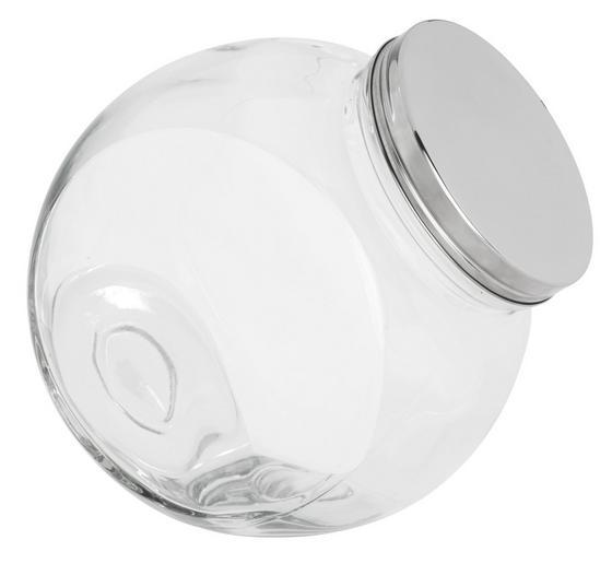 Dóza Na Korenie Antonius -top- - farby nerezovej ocele/číre, kov/sklo (22,4/15,2/22,5cm) - Mömax modern living