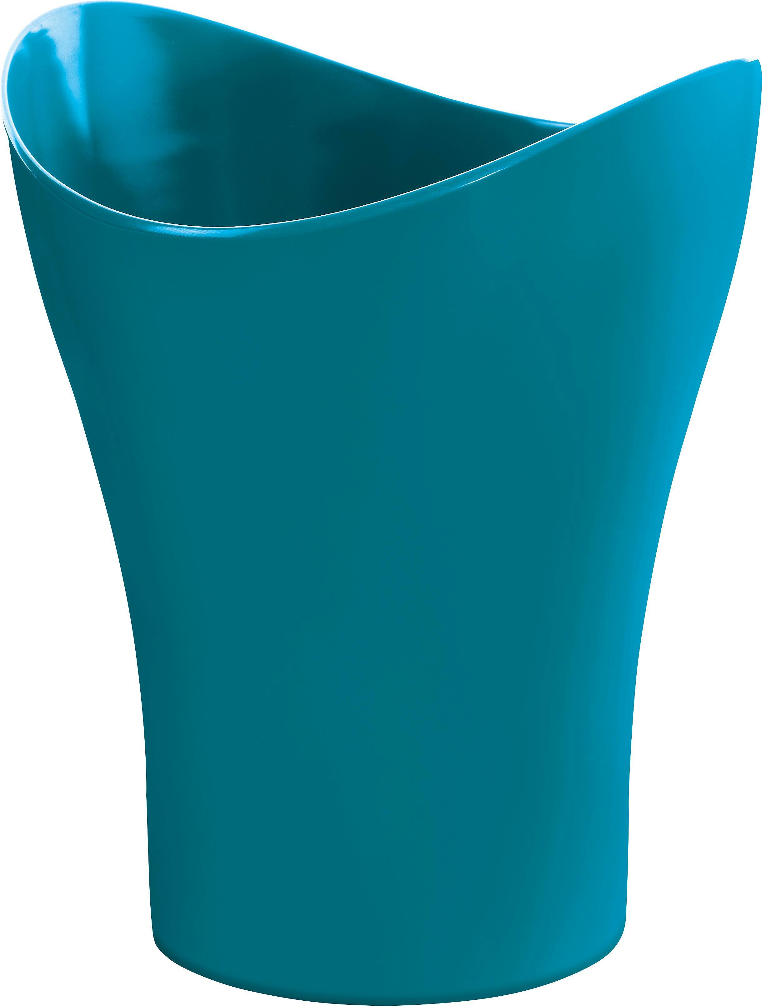 Koš Na Kosmetické Potřeby Bella - petrolej, Konvenční, umělá hmota (23,47/27,86cm) - MÖMAX modern living