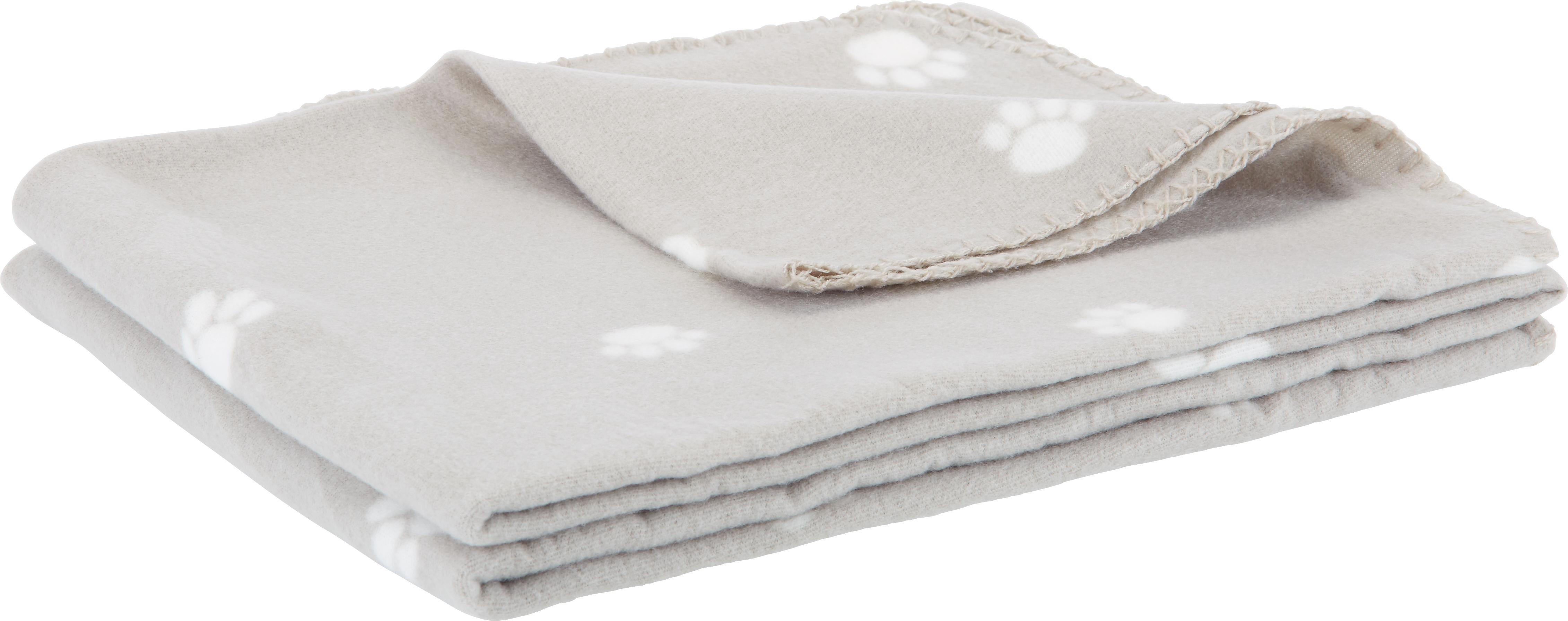 Fleecová Přikrývka Pet - béžová, textil (120/150cm) - MÖMAX modern living
