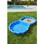 Sand- und Wassermuschel Neptune - Blau, KONVENTIONELL, Kunststoff (87/79/20cm)