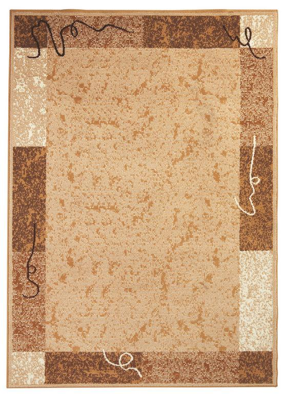 Webteppich Maximilian 160x225 cm - Creme, KONVENTIONELL, Textil (160/225cm) - Ombra