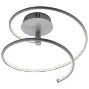 Stropní Svítidlo Reggie Led - barvy stříbra, Moderní, kov (35,5/34cm) - Modern Living