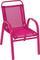 Kinder-Gartensessel Stapelbar Jessica I, Stahl, Textilene - Pink, KONVENTIONELL, Kunststoff/Textil (36/56/45cm) - Ombra