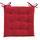 Sedací Vankúš Lola -based- - červená, textil (40/40/2cm) - Based