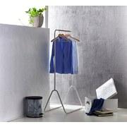 Kleiderständer Scandic Iv 80cm Weiss - Weiß, MODERN, Kunststoff/Metall (80/145/44cm)