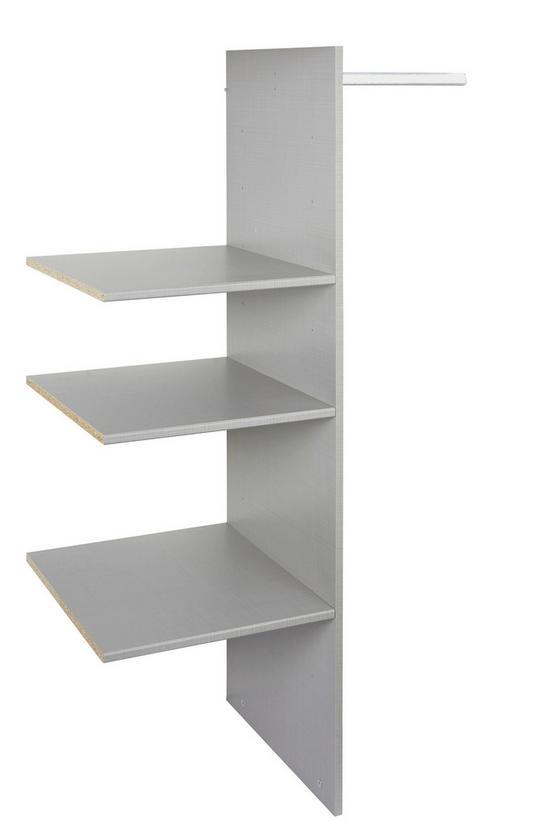 Vnútorné Členenie Katrin/cordoba/anna/fly - sivá, drevo (87/150/50cm)