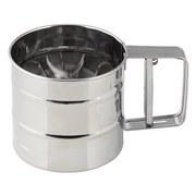 Küchensieb Inox - Edelstahlfarben, KONVENTIONELL, Metall (0,35kg) - Zenker
