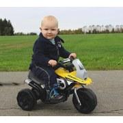 Ride-On E-Trike Racer Gelb - Gelb/Schwarz, Basics, Kunststoff (67,5/35/44,5cm)