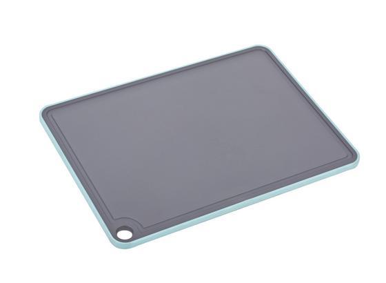 Doska Na Krájanie Cutty - sivá/mätovozelená, plast (23,2/32,1/0,7cm) - Mömax modern living