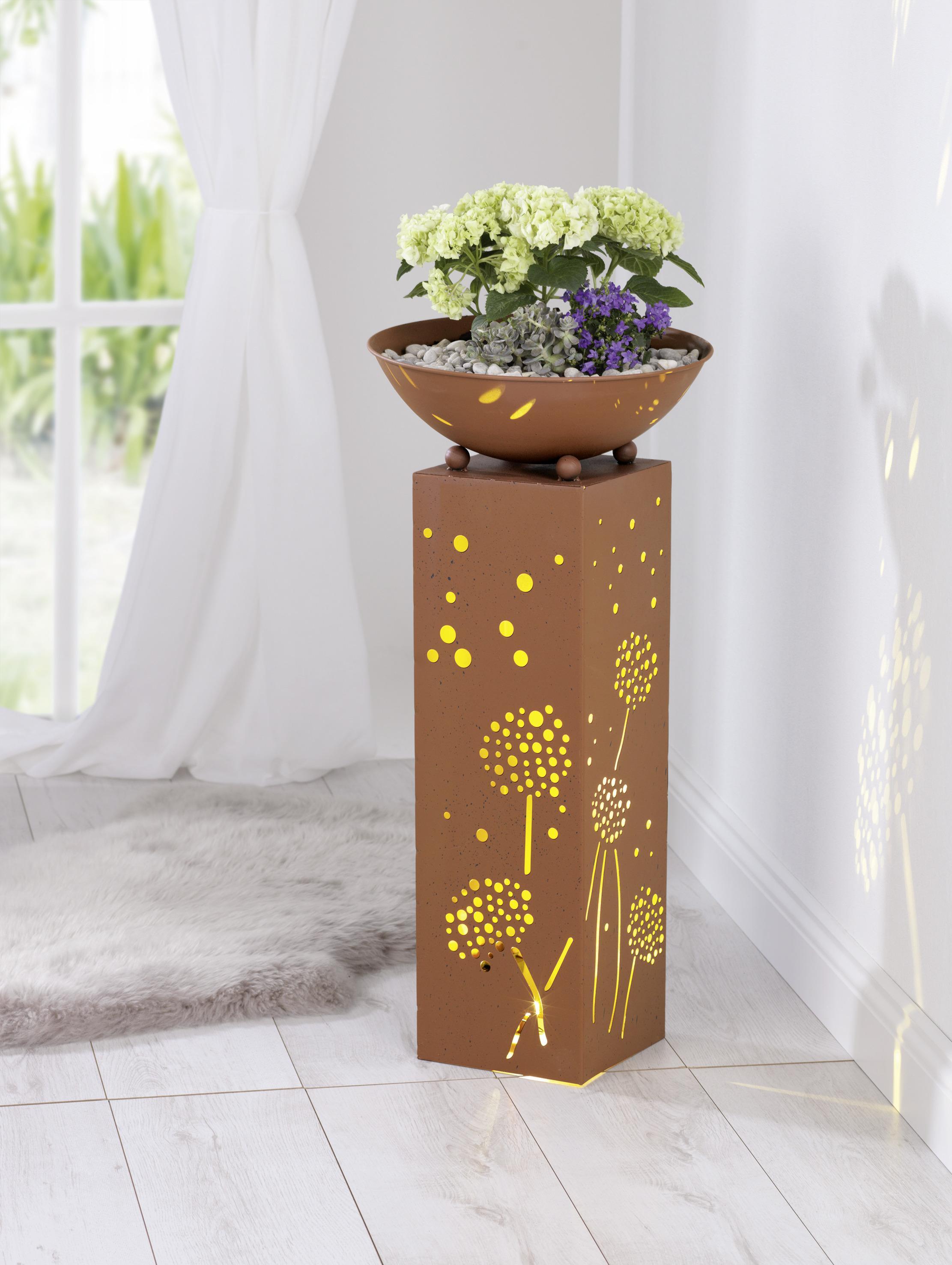 Schale dekosäule mit fleur ami