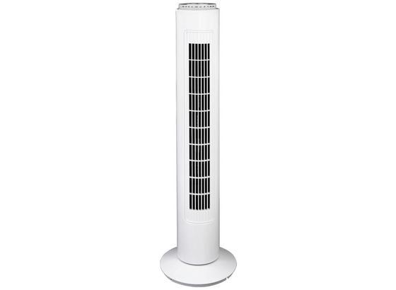 Vežovitý Ventilátor Lufti - biela, plast (22/73cm) - Insido